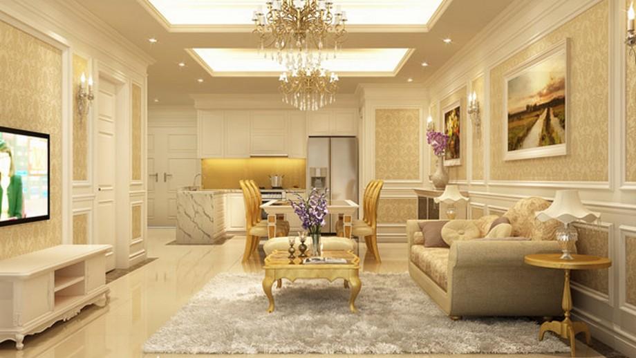 Tân cổ điển là chọn lựa lí tưởng cho những không gian cần thiết kế sang trọng hay những lâu đài, biệt thự đẳng cấp
