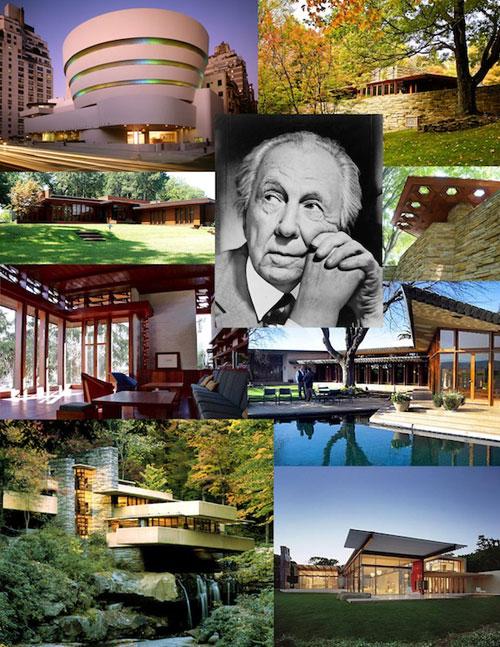 Chân dung vị kiến trúc sư tài ba Frank Lloyd Wright