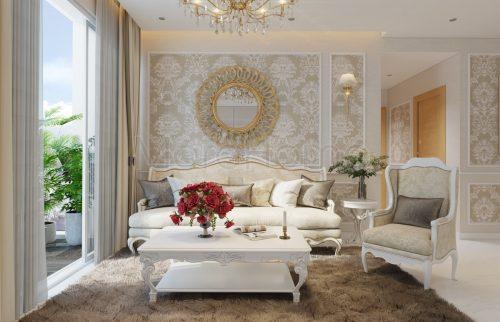 Tư vấn chọn nội thất cho không gian thiết kế tân cổ điển