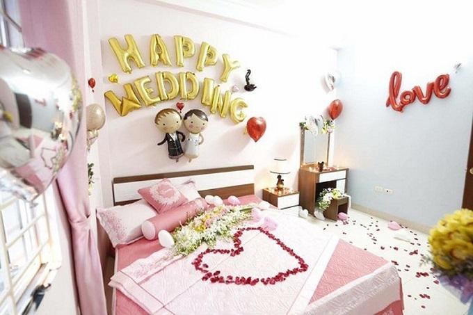 Những phong cách trang trí phòng cưới đẹp 2019 tốt nhất