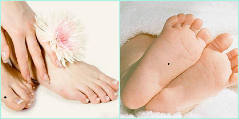 Giải mã nốt ruồi son dưới lòng bàn chân xem vận mệnh tốt xấu