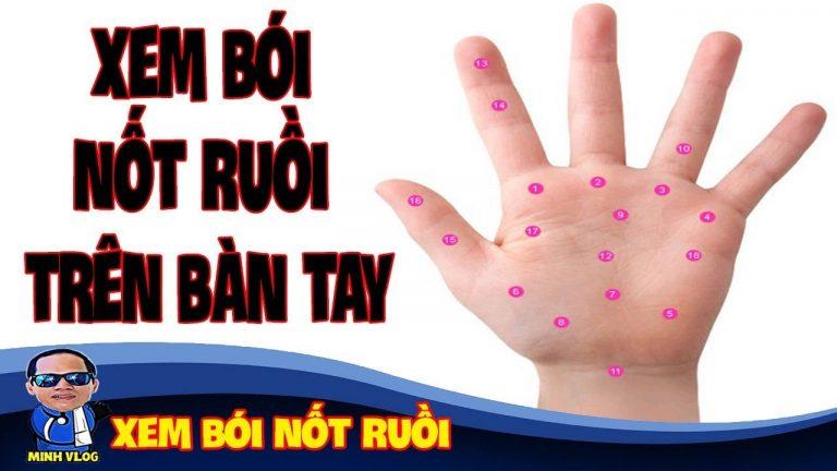 Giải mã nốt ruồi son trong lòng bàn tay tốt hay xấu?